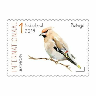 Nederland/The Netherlands - Postfris/MNH - Complete set Europe, Birds 2019