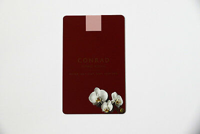 Conrard Hotel Room Key Card Hong Kong Rare Hilton In-flight Gifts/ Amenity Kits Airlines