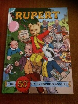 Rupert Annual 1985 ( 50Th Daily Express Annual)  Free P&p