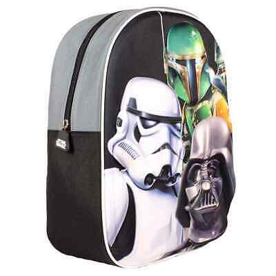 Mochila Escolar 3D STAR WARS Dark Side, Infantil 31 cm.