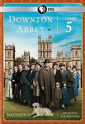 Masterpiece: Downton Abbey Season 5, Good DVD, Hugh Bonneville, Laura Carmichael