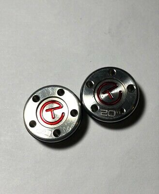 SCOTTY CAMERON TOUR Weights Circle T Deluxe Black 20 Grams
