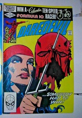 DAREDEVIL 179 Marvel comic FEBRUARY 1982 FN+ FRANK MILLER ART Elektra SEE MORE