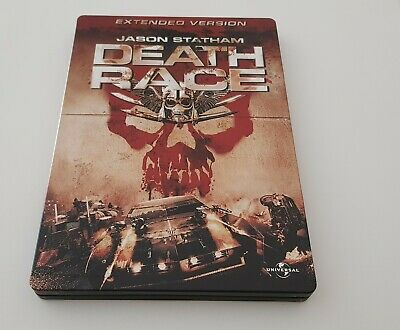 Blu-ray Death Race Extended Version Grand Steelbook Avec Version Française
