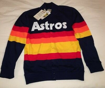 Nwt Mitchell And Ness Houston Astros Sweater Jacket Kate