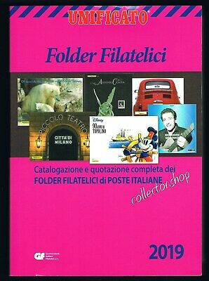 Unificato Folder Filatelici Edizione 2019 Catalogo Per Folder Filatelici