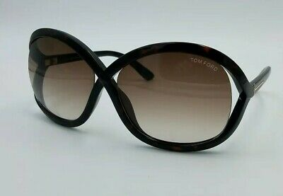 fc3145abceb Tom Ford TF297 52F Sandra Dark Brown Tortoise 62×15 Sunglasses  1237