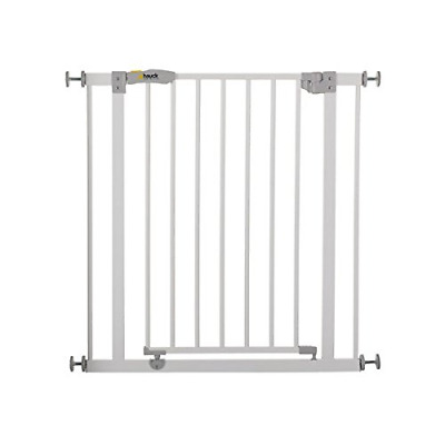 Hauck Open N Stop Pressure Fit Safety Gate 75 - 80 cm, Compatible with Y-Spindle