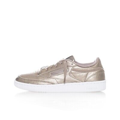 Shoes Woman Reebok Club C 85 Melted Metal Bs7901  Oro