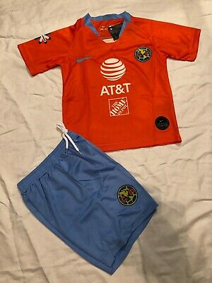 100% authentic 477a2 d63d0 CLUB AMERICA JERSEY + Shorts Kids Youth Years 7-8
