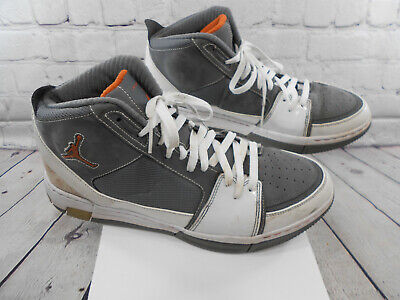 239cc8b4e9313b Nike Air Jordan Retro Countdown Hare Grey White Orange Size 11.5 331819-081
