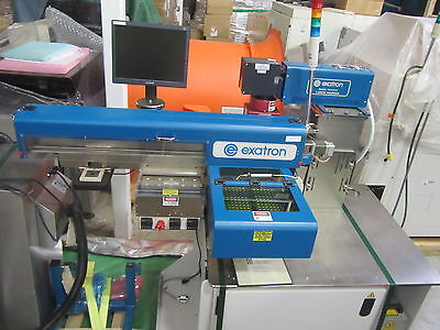 Exatron Test Handler 902 Micro Chip Pick and Place Engraver Laser Marker Device