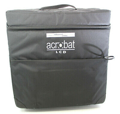Acrobat LCD HD Enhanced Vision Reader ACHE22A Rolling Case Only Suitcase