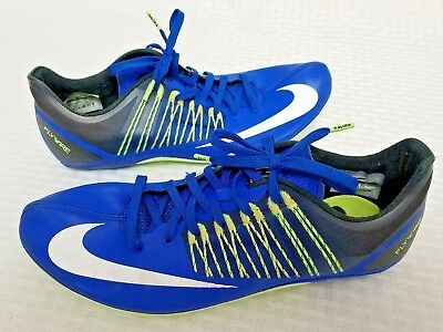 new product d12f7 5375f Nike Zoom Celar 5 Sprint Track Shoes Men s Sz 11 Spikes Blue Green 629226- 413