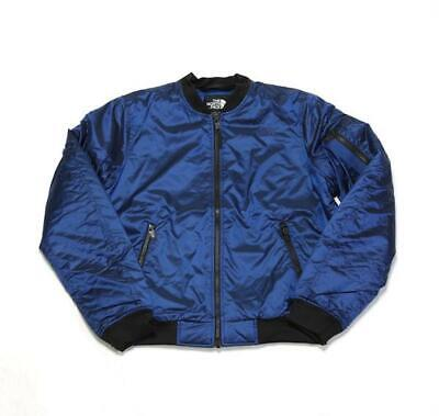 (VINTAGE) THE NORTH Face Women's Barstol Bomber A39Mex80 Brit Blue (Msrp: $139)