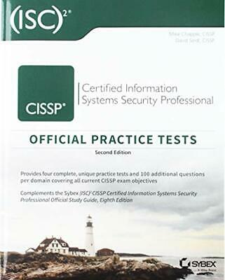 CISSP Official (ISC)2 Practice Tests by Chapple, Mike|Seidl, David
