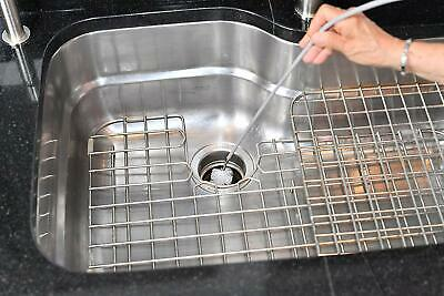 Sink Drain Brush Cleaner Tool 5ft Fix Kitchen Unclog Bathrooms Tub Drain New