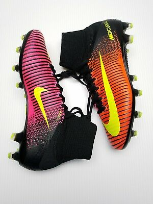 ec062036af51 Nike Mercurial Superfly V AG-Pro Soccer Cleats ACC Crimson Black NEW sz 7.5