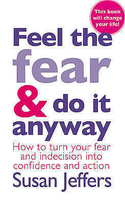 """""""VERY GOOD"""" Feel the Fear and Do it Anyway, Jeffers, Susan, Book"""