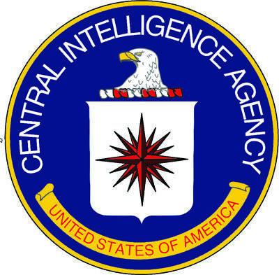 Central Intelligence Agency Cia Uv Laminated Vinyl Sticker 110Mm Dia Police