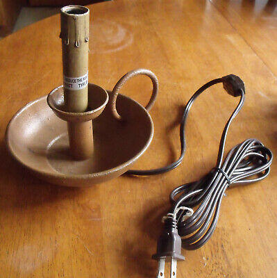 Rustic Primitive Electric Finger Loop Candle Stick