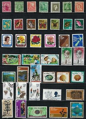 New Zealand  - Collection of 41 Different  Stamps .....................# 19 M 28