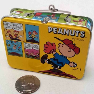 HALLMARK PEANUTS LUNCHBOX ORNAMENT New in Box - Missing the Thermos SHIPS FREE
