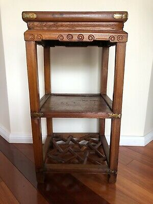 Chinese Antique Side Table Tall 39*39*75