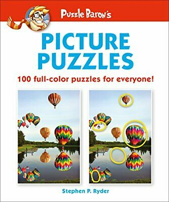 NEW - Puzzle Baron's Picture Puzzles: 100 all-color puzzles for everyone