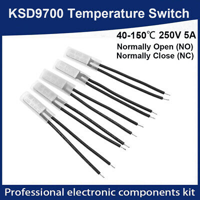 KSD 9700 Temperature Switch Thermostat Thermal Protectors. 40 to 150 degrees