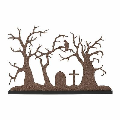 Department 56 Halloween Silhouette New 2019 6003300 Village Backdrop Display