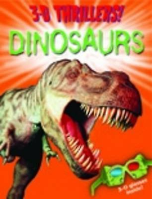 """""""VERY GOOD"""" 3D Thrillers: Dinosaurs (3D Thrillers), Paul Harrison, Book"""
