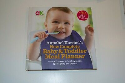 Annabel Karmel's New complete Baby & Toddler Meal Planner Book recipes