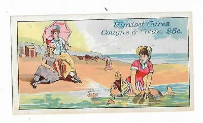 Quack Medicine ULMISET Cures Coughs Colds BEACH Heyne Druggists Syracuse NY