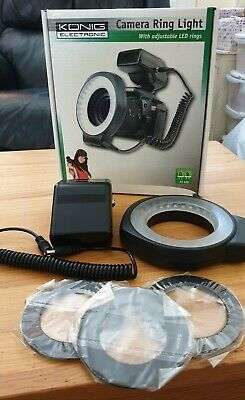 Konig KN-RL60 LED Camera Ring Light - used once