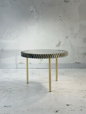 1980 Table Basse Gueridon Moderniste Shabby Chic Industriel Memphis