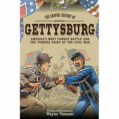 Gettysburg: The Graphic History of America's Most Famou - Paperback NEW Vansant,