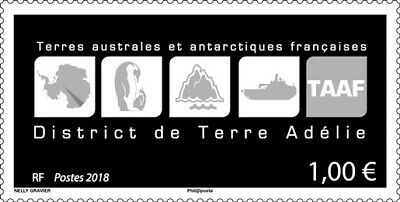 TAAF - Postfris/MNH - District de Terre Adelie 2018