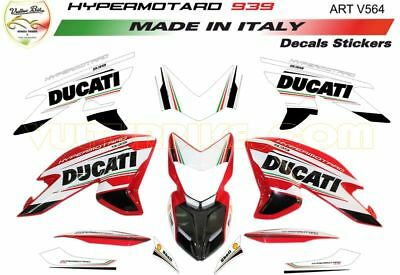 "Stickers Kit ""Ducati-Tricolore"" for Ducati Hypermotard 939"