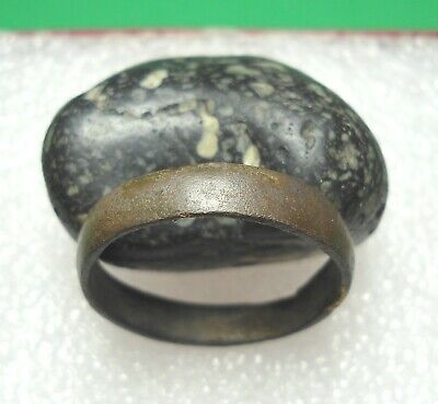 Ancient Roman Bronze Ring Original Authentic Antique Rare R699
