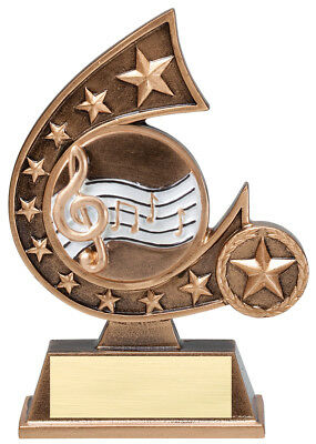 Music Comet Resin Award Trophy - Engraved Free - Speedy Shipping