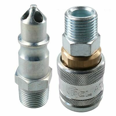 "PCL 100 Series Female Coupler 1/2"" BSP & 3/8"" BSP Male Adaptor Air Fitting"
