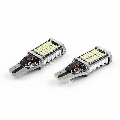 2X LED T15 W16 CANBUS 4014 30SMD Parking Light Stop Tail light 9-30V