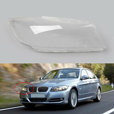 Right Side Clear Headlight Headlamp Lens Cover For BMW 3 Series E90 2006-2012 B