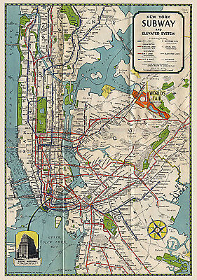 Custom Art Nyc Subway Map.Subway Surfers New Custom Personalized Art Print Poster Wall Decor