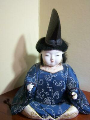 Vintage Antique Asian Japanese doll hand made hand painted