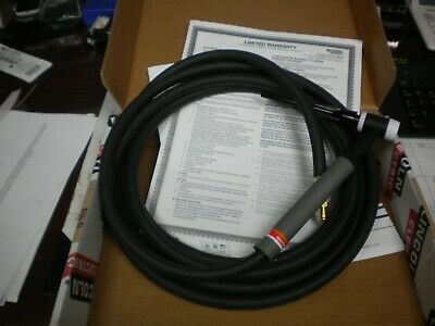TIG Welding Torch 9 /& 17 Cable 57Y01R 12.5-ft w// Adapter K1622-1 for Lincoln PTA