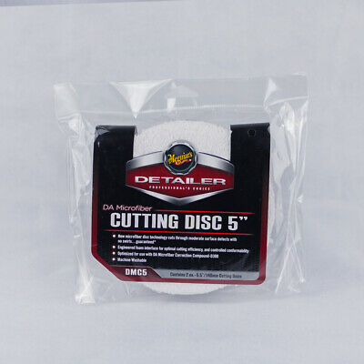 Meguiars DMC5 Dual Action Microfibre Cutting Disc 5 inch - 2 Pack