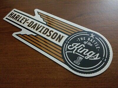 Harley Davidson The Battle of the Kings sticker decal Harley-Davidson HD BOTK