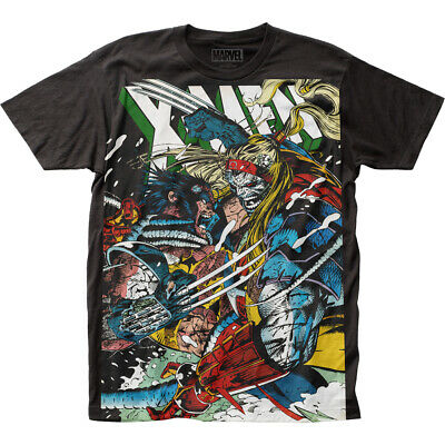 X-Men Wolverine vs Omega Marvel Liscensed Adult T Shirt
